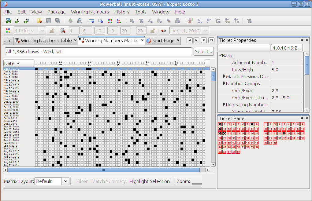 Excel Spreadsheets Lottery Software Lotto Programming Induced Info